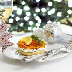 It's Christmas... so here are three smoked salmon Christmas breakfast recipe options.