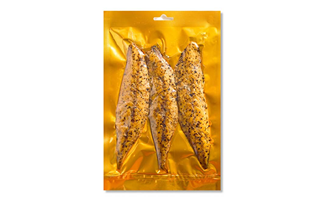 Peppered mackerel fillet pair