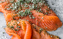 Trimmed side Gravadlax (unsliced) 900g min